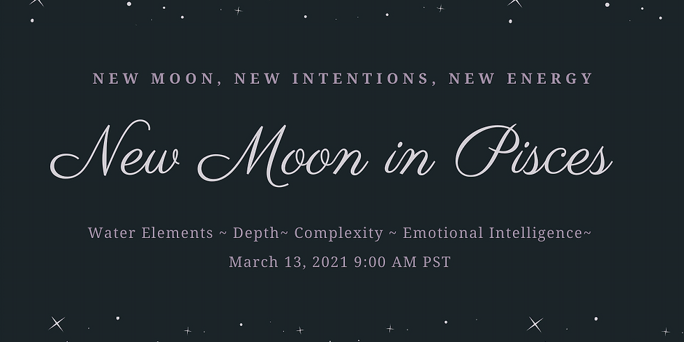 New Moon in Pisces Ritual Work Inside The Sanctuary