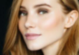 Schönheit in natürlichen Make-up