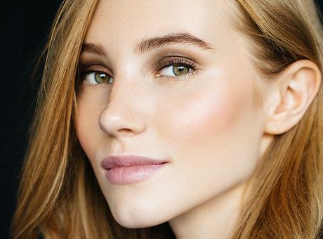 Skönhet i naturlig makeup