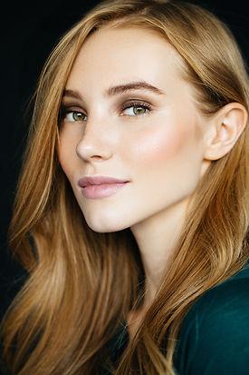 Schoonheid in natuurlijke make-up