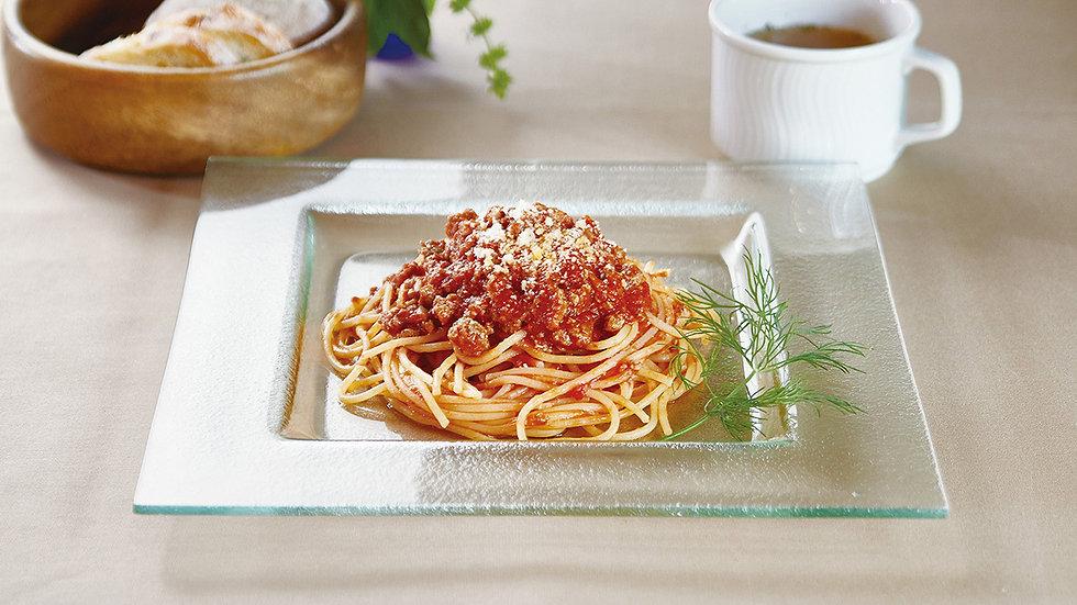屋久鹿肉のラグートマトソース