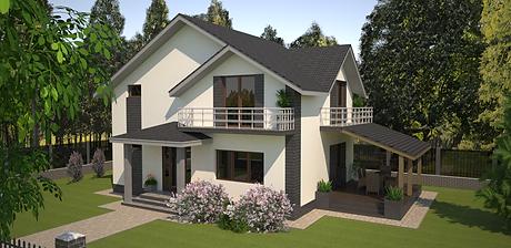 Proiect Casa Parter plus Mansardă, Suprafață 150 mp