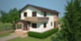 Proiect Casa Parter plus Mansardă, Suprafață 183 mp