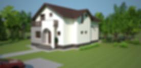 Proiect Casa Parter și Mansardă, Suprafață 172 mp