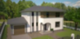 Proiect Casa Parter plus Mansardă, Suprafață 197 mp