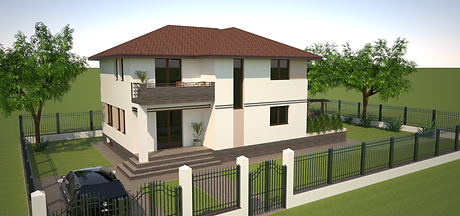 Proiect Casa Parter plus Etaj, Suprafață 189 mp