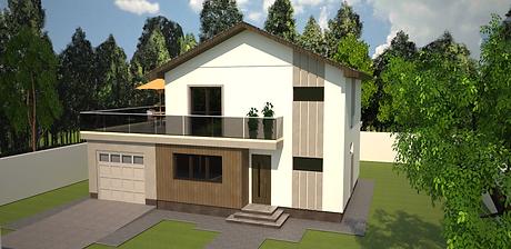 Proiect Casa Parter și Etaj, Suprafață 140 mp