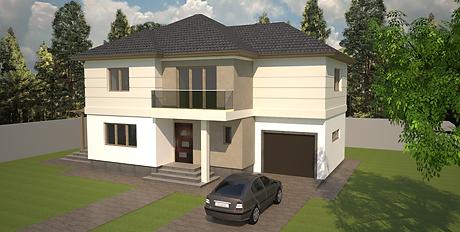 Proiect Casa Parter, Suprafață 72 mp