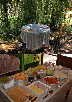 Desayuno Buffet bajo el Árbol