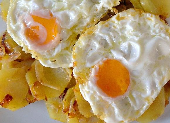 Huevos a lo Pobre