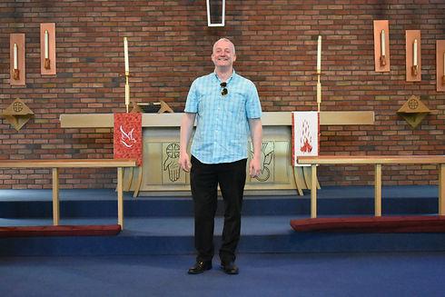Pastor James Zang