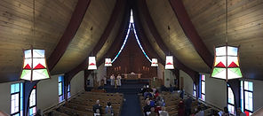 Inside Mount Olive Sanctury