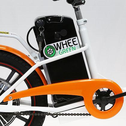 Lithium battery, 36V 10.8 Ah, for Model K18 E-Bike.