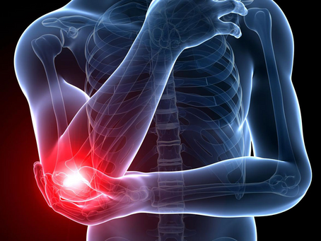 'TENNIS ELBOW' - 5 TIPS FOR RELIEVING THAT OUTER ELBOW PAIN, ALSO KNOWN AS LATERAL EPICONDYLALGIA
