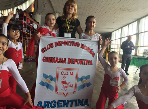 """""""Magnífica"""" actuación de las gimnastas del Gallo"""