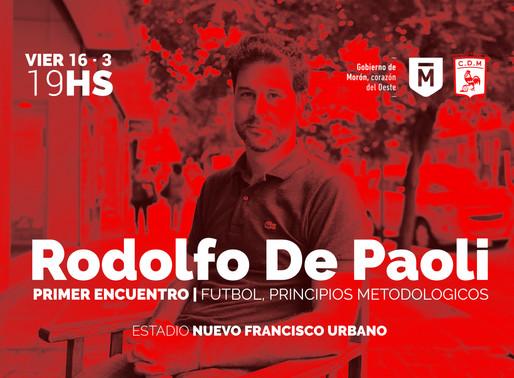 RODOLFO DE PAOLI VISITA EN NFU