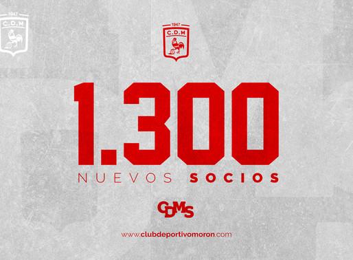 LLEGAMOS A LOS 1.300