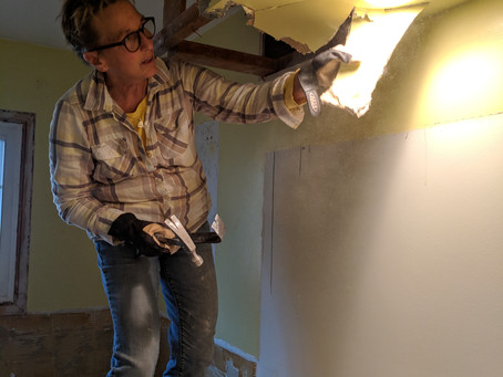 Home Renovation – like Star Wars®, we're starting in the middle