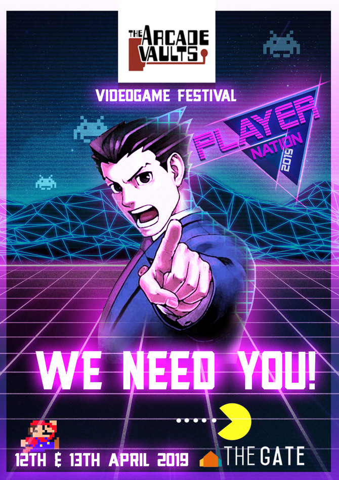 Join Arcade Vaults Player Nation in 2019