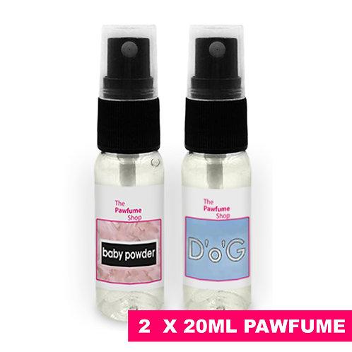 The Pawfume Shop 2 x 20ml Pawfume