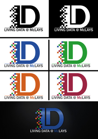 Living Data @Mclays Logo
