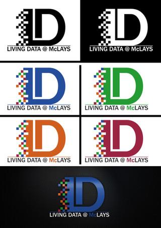 Living Data @Mclays Logo