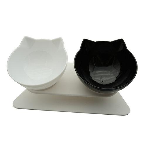 Non-Slip Single & Double Cat Bowl