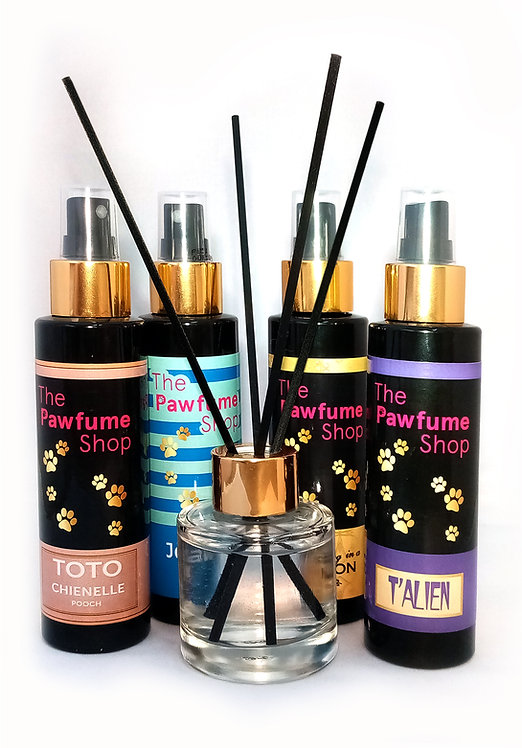 The Pawfume Shop Home reed diffuser