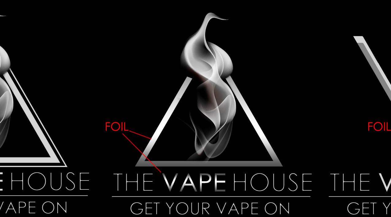 The Vape House Graphic design Caerph