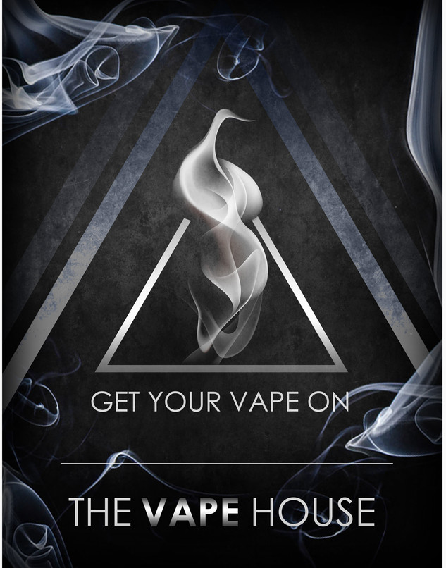 The Vape House Logo & Brand