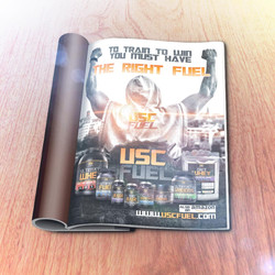 USC FUEL Fighter Magazine Advert