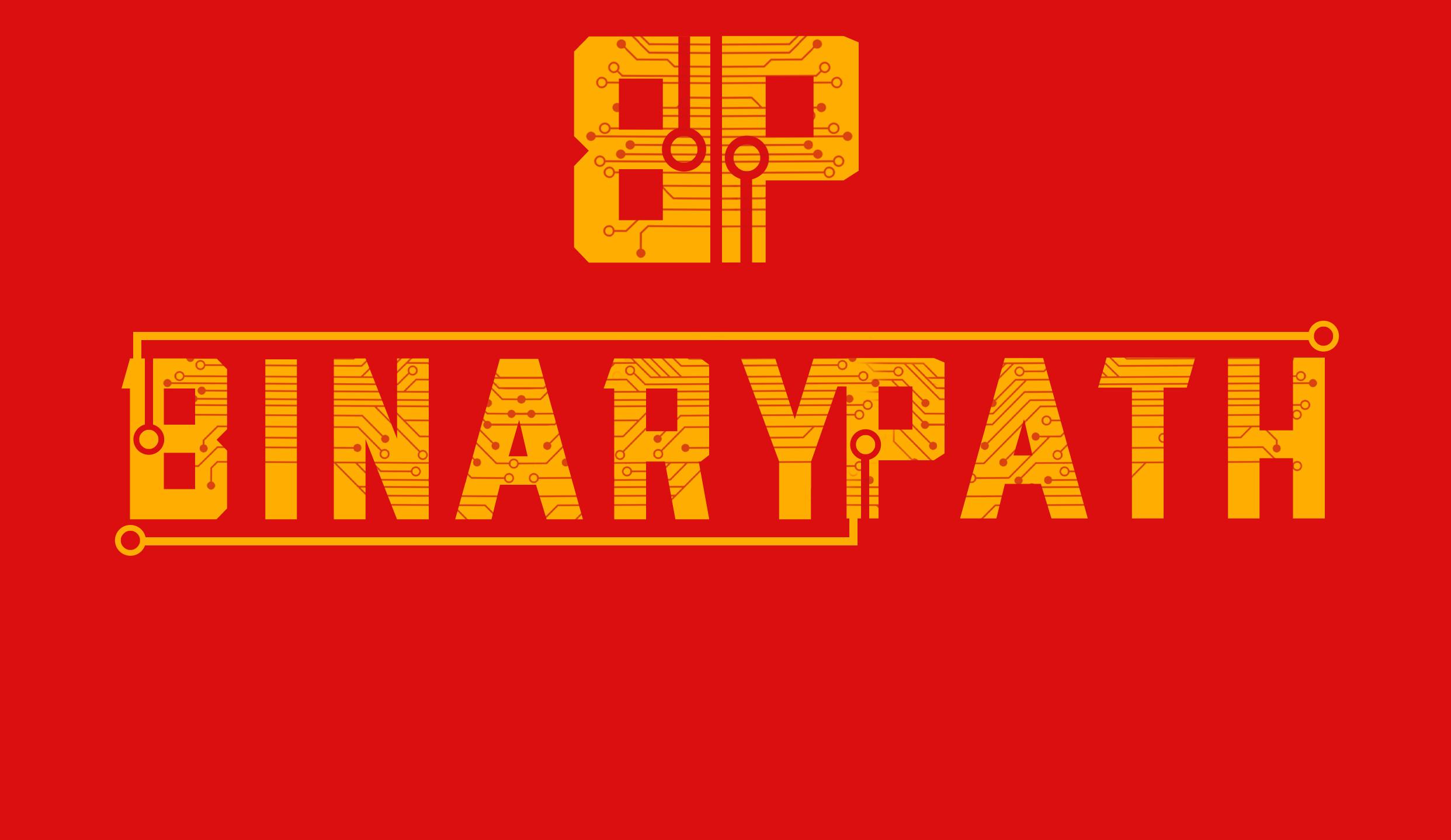 Binary Path game logo -Gcreateur3b