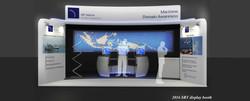 SRT custom mockup event booth 3D