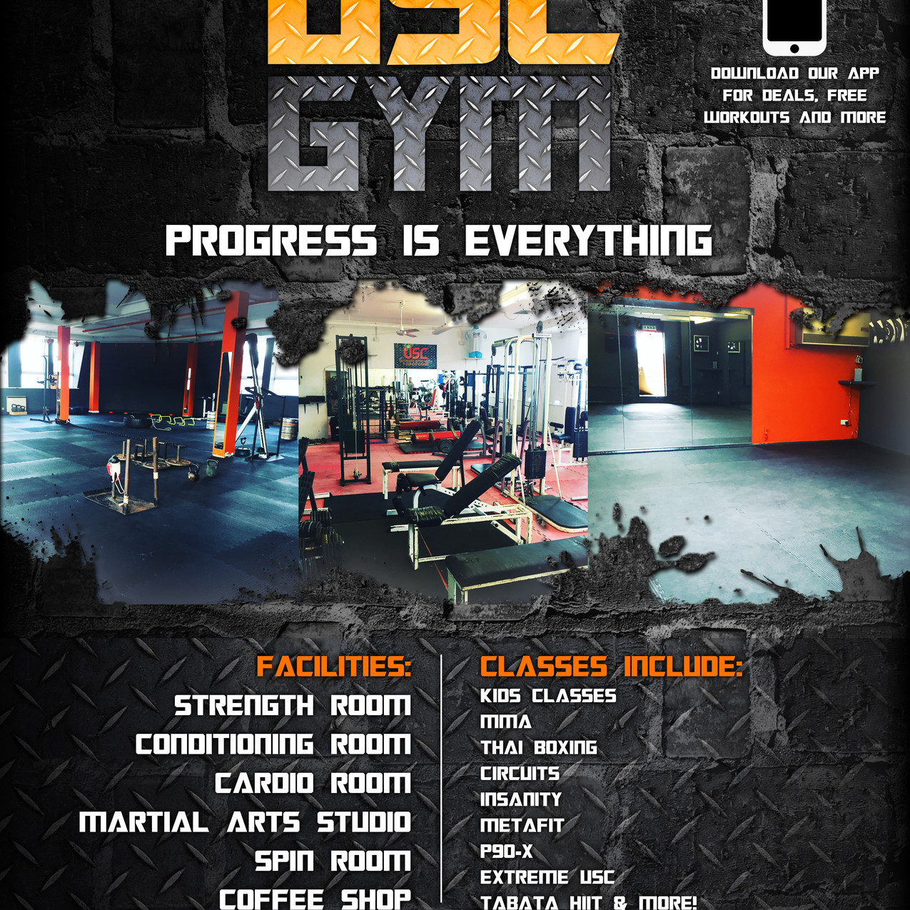 After USC GYM poster