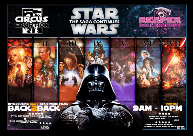 The Star Wars Graphic Design Poster