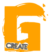 Caerphilly / Cardiff based graphic design Gcreate logo