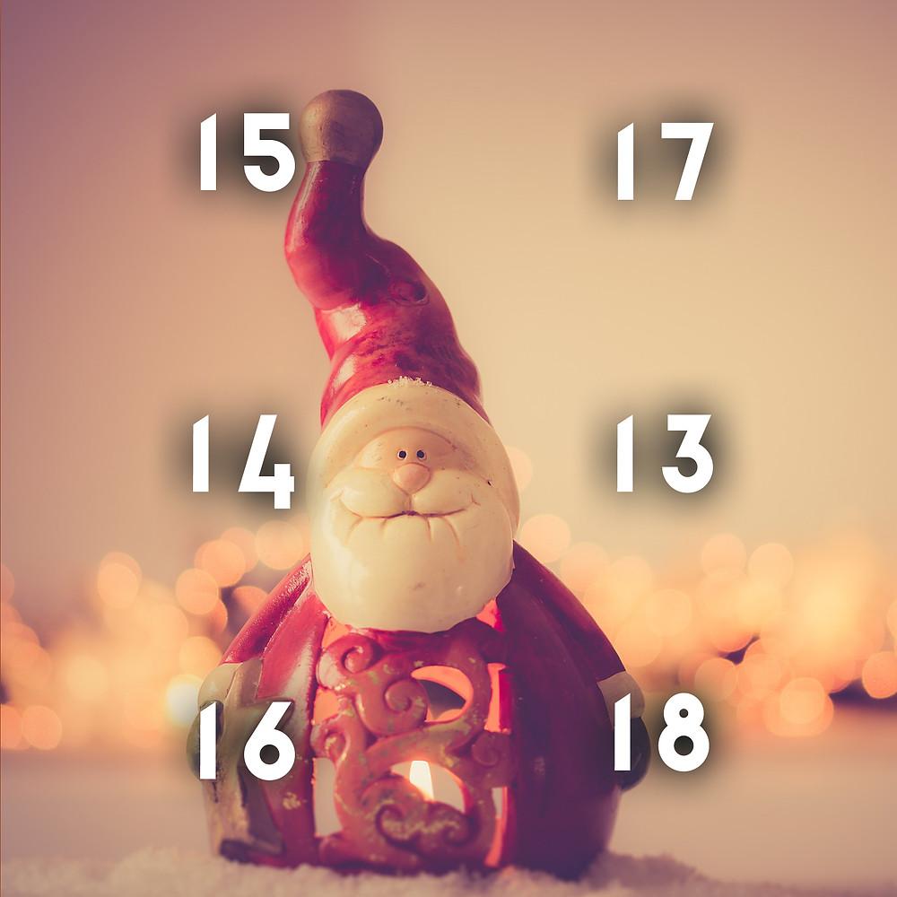 Graphic design Advent Calendar 2018