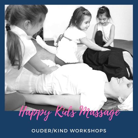 Happy Kids Massage - Ouder/Kind Workshop