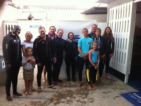 Les premiers plongeurs de l'année !