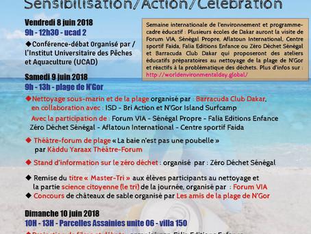 Nettoyage pour la Journée mondiale des océans - 9 juin