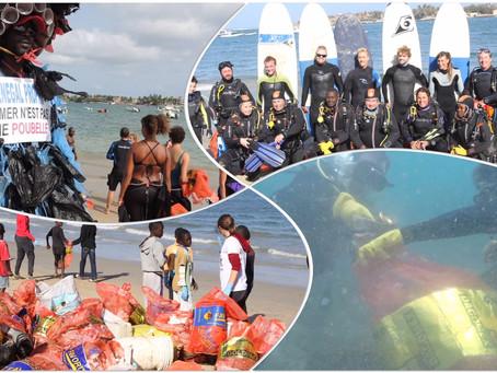 Nettoyage de la baie de N'GOr Programme du week-end Océans