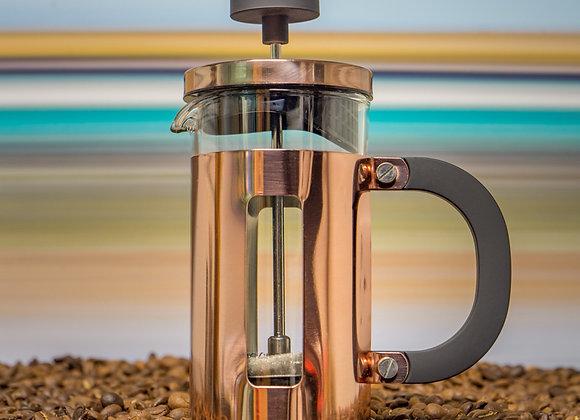 Pisa 3 Cup Cafetière: Copper