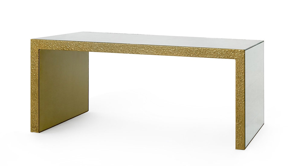 ODEON COFFEE TABLE, CHAMPAGNE BRONZE