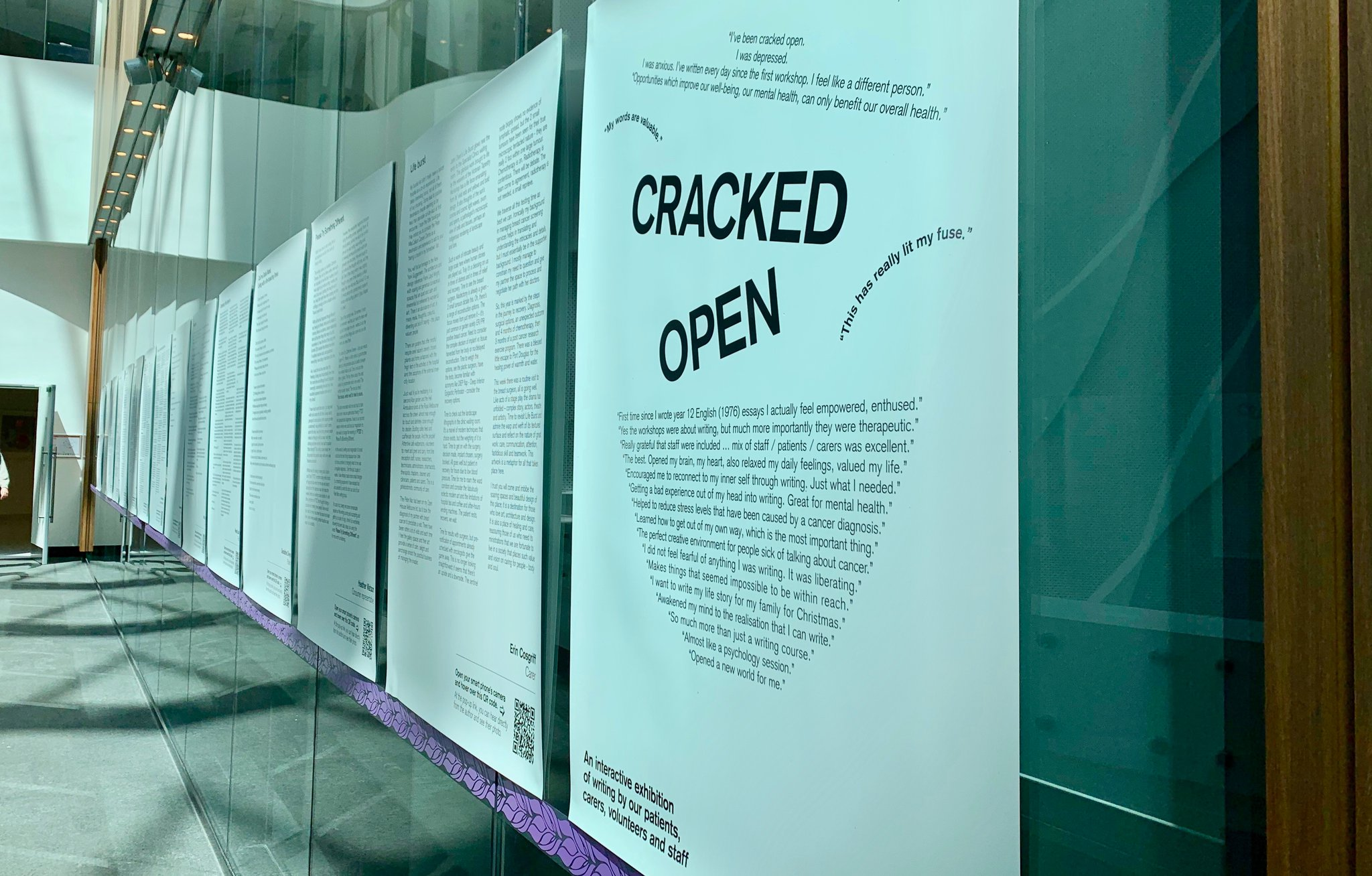 Cracked Open Exhibition