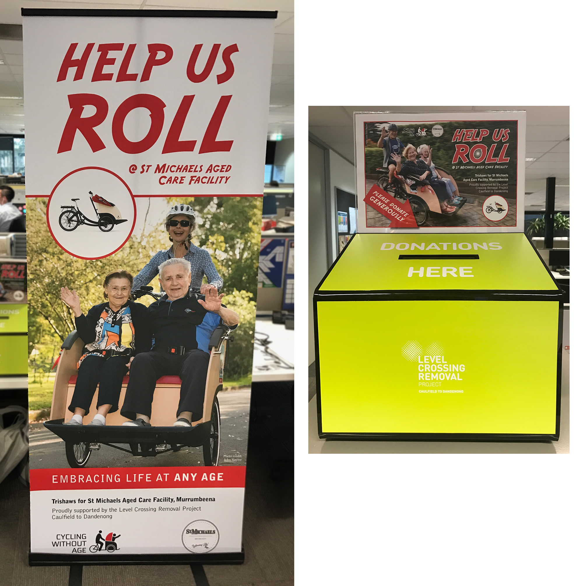 Help Us Roll!