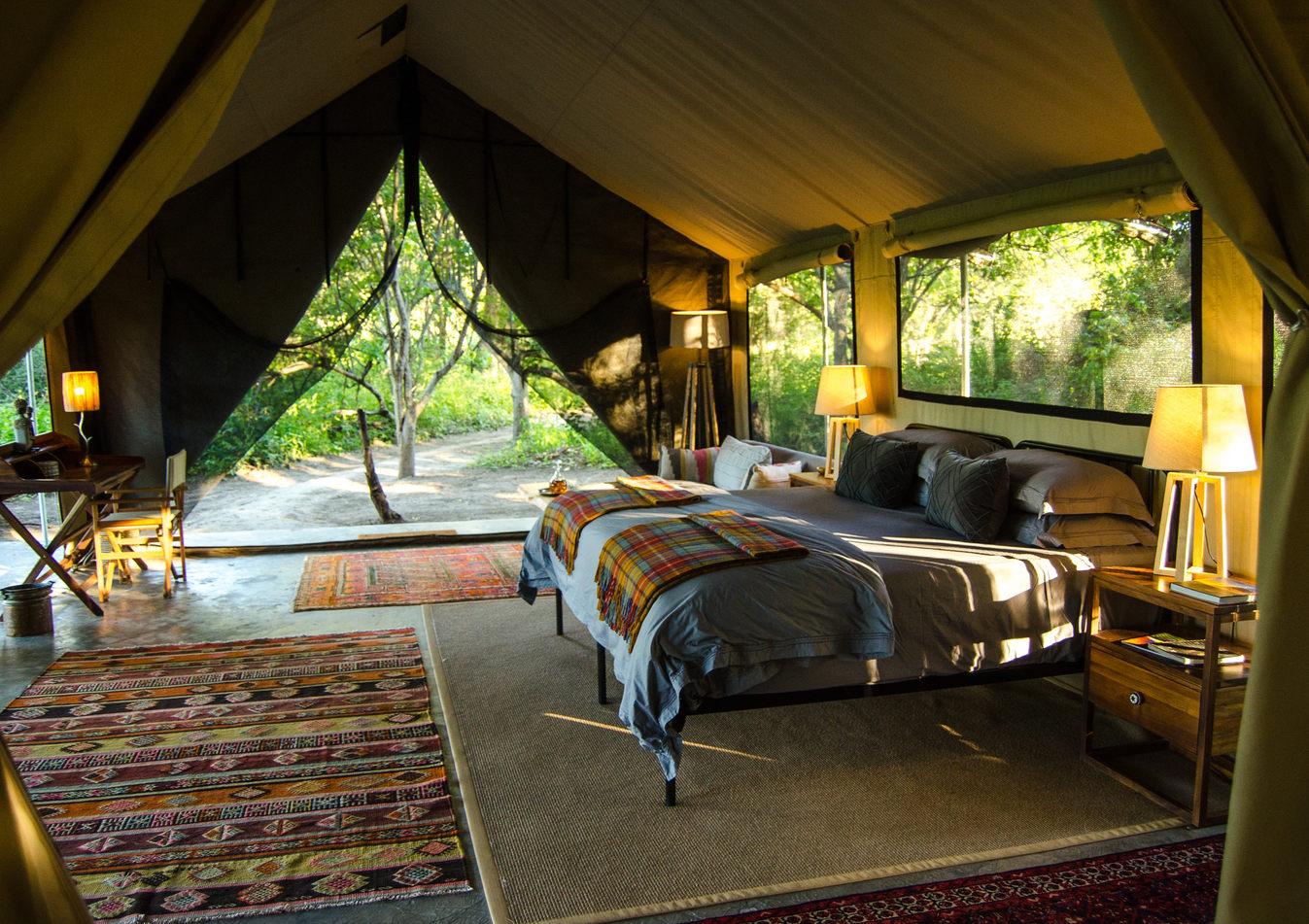 Super luxury sleep tents