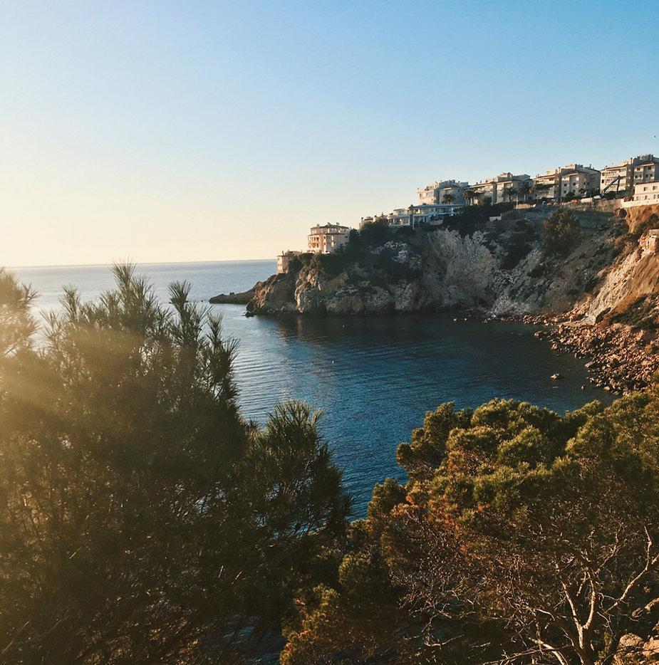 Landschaft Sonnenuntergang Mallorca
