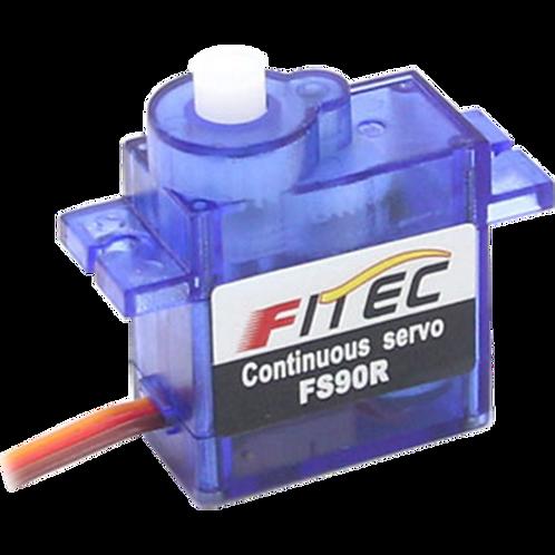 FEETECH Servo Motor FS90R, Analog 0~360 ° Continuous