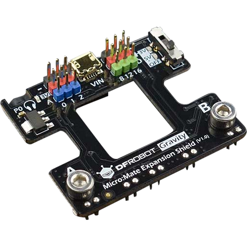 DFRobot Micro:Mate Expansion Board for micro:bit, Gravity Compatible