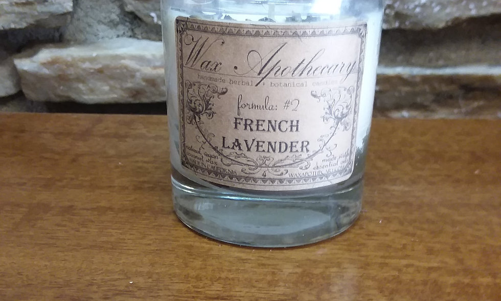 French Lavender Vegan Coconut Wax Candle